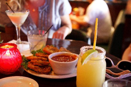 McClarens: Mountain Margarita and Fried Green Tomatoes