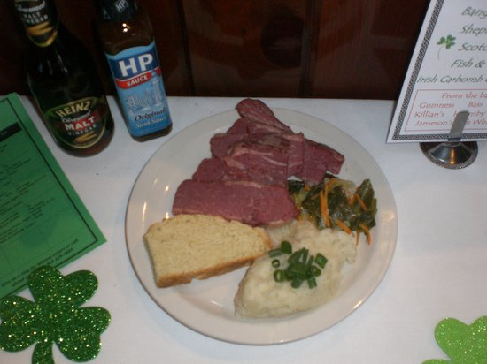 McClarens: Corned Beef and Cabbage