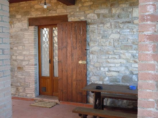 Agriturismo Monte Valentino: the door to our apartment