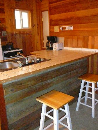 June Lake Pines: kitchen