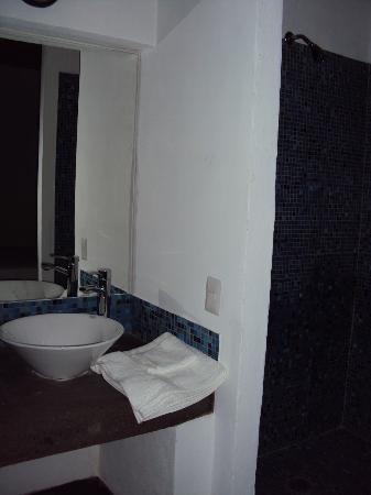 Hotel Suites Dali: BAÑO DE HABITACION SENCILLA