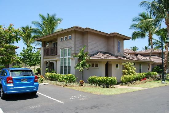 Aston Waikoloa Colony Villas: 我が家とレンタカー