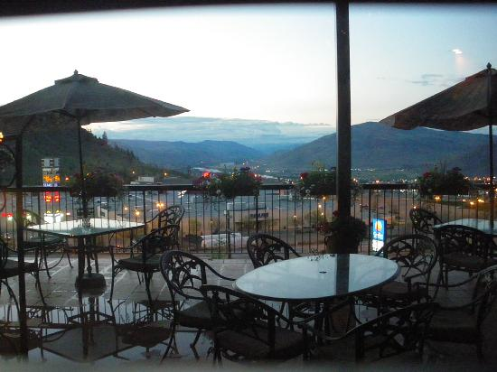 Kamloops, Canadá: View from the bar area
