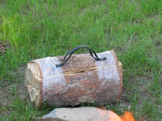 Beaver Lake Campground : a bundle of firewood $4.00