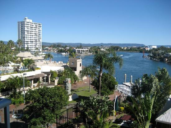 Moorings on Cavill Avenue: View from the balcony, level 3