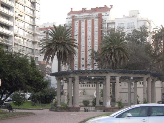 Ermitage Hotel: vista desde la playa