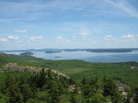 Acadia National Park, ME: Beehive Summit