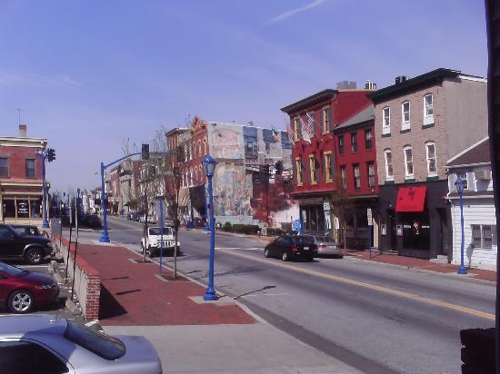 downtown Phoenixville, PA
