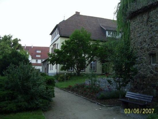 Zwingenberg, Germany: City Hall and Park