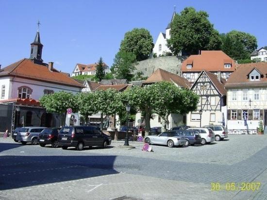 Zwingenberg, Germany: Market Square
