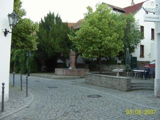 Zwingenberg, Germany: Loewenplatz