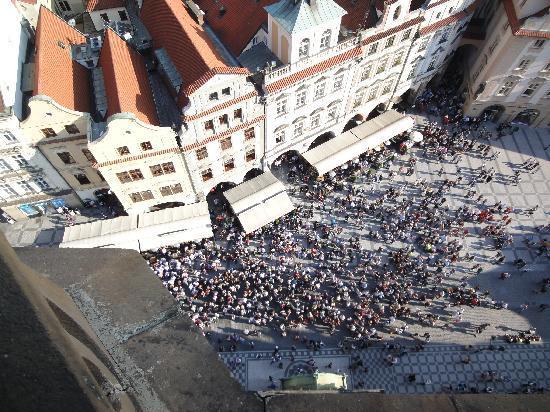 Praga, República Tcheca: On top of Clock Tower