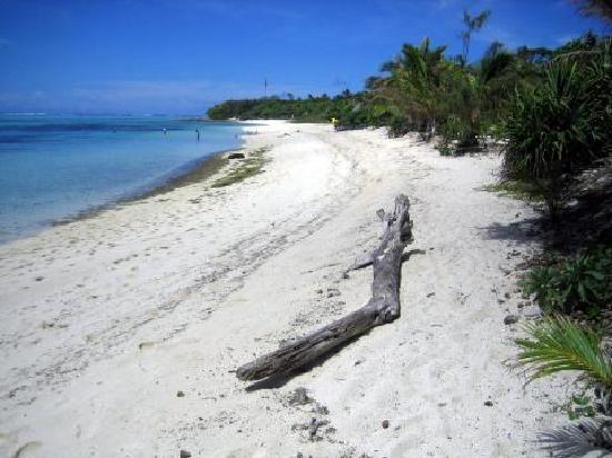 Mystery Island, Vanuatu: Der Strand