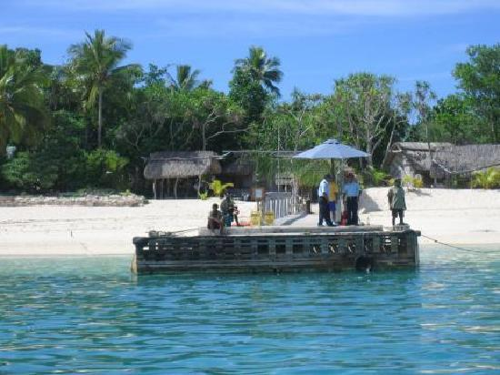 Mystery Island, Vanuatu: Der Hafen