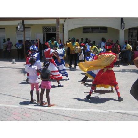 Falmouth, Jamaica: Tänze für Touristen