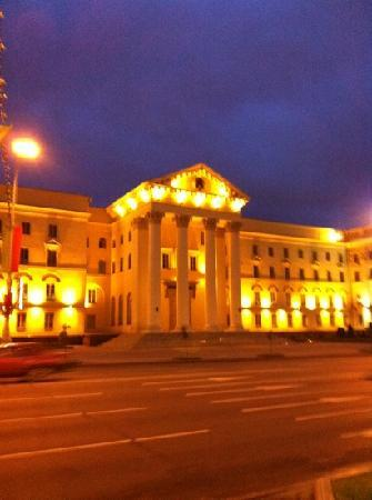 Minsk, Belarus: night