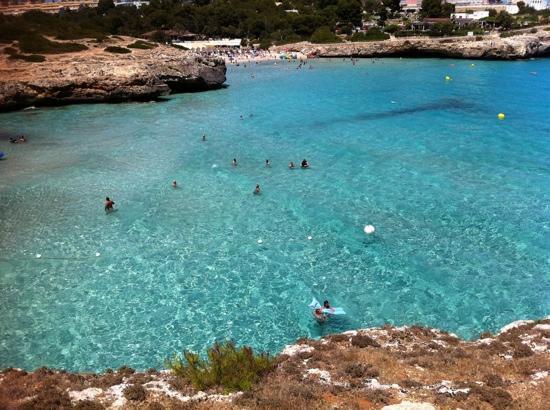 Club Cala Romani : Crystal clear sea