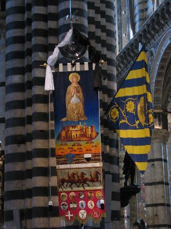 Sienne, Italie : Il Palio in duomo