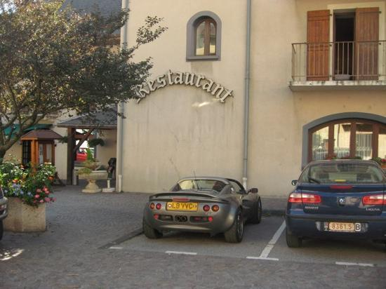 Saint-Jean-de-Maurienne, Frankrijk: Overnight treat