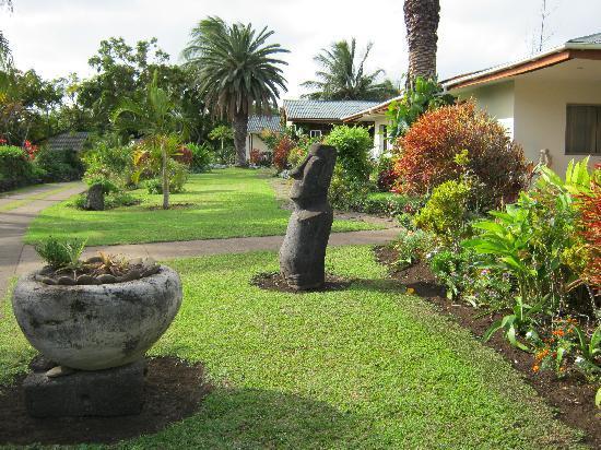 O'tai Hotel: The beautiful gardens