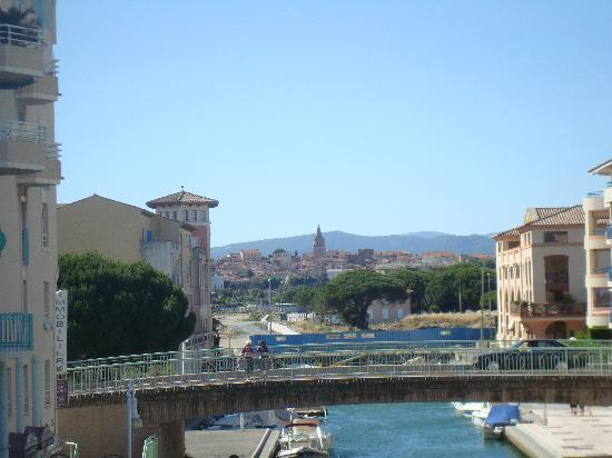 View of old town from port picture of mercure thalassa port frejus frejus tripadvisor - Mercure thalassa port frejus ...