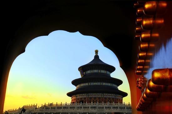Pekín (Beijing), China: Il tempio del ceilo