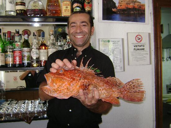 Albergo Oasi: Chef Maurizio Mastrototaro