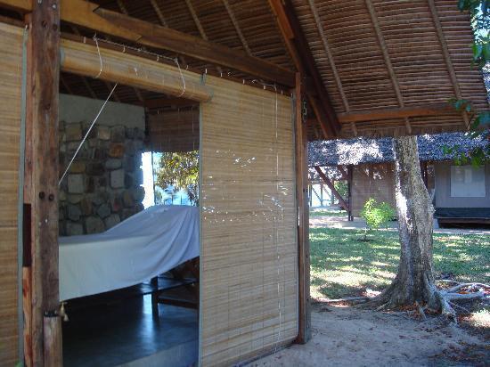 Eden Lodge : le coin massage... delicieux!!