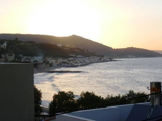 Sunset from Villa Georgia Apartment Veranda