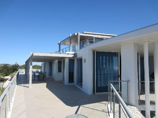 C Bargara Resort: ample deck space