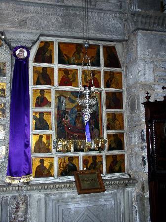 Panayia Ekatondapiliani Cathedral: Ikonen
