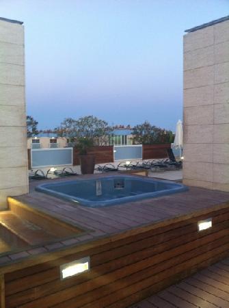 Hotel Villamarina Club: jucuzzi on the rooftop
