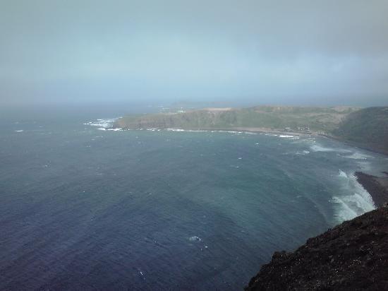 Rebun Island: ゴロタ岬からスコトン岬を臨む