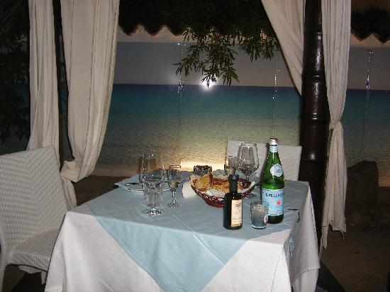 Trattoria del Mare: Tavolo del ristorante