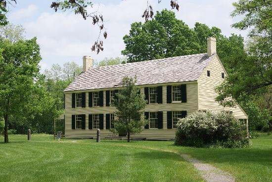 Saratoga National Historical Park: The Schuyler house
