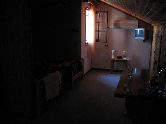 Main Room Looking Towards Hallway Lights Off Picture Of Yiannis - Bedroom lights off