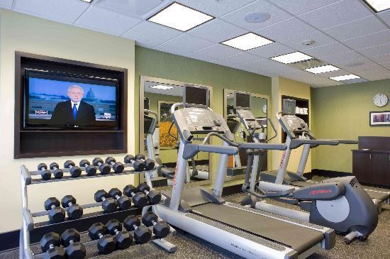 Fairfield Inn & Suites Columbus: State of the art fitness center