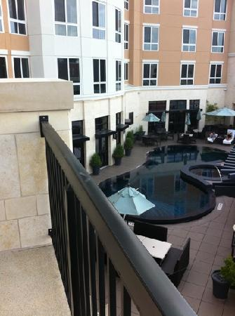 Hyatt Centric The Woodlands: patio