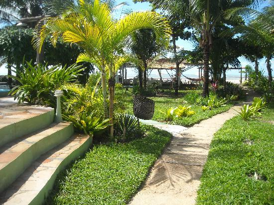 Hotel Puerto Beach: Redário Beira Mar
