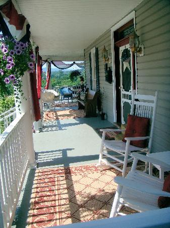 A. C. Stickley Bed and Breakfast: Porch July 2011