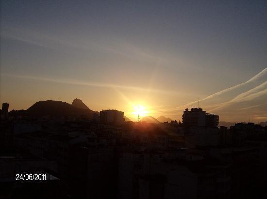 Augusto's Copacabana Hotel: Vista da Varanda do hotel