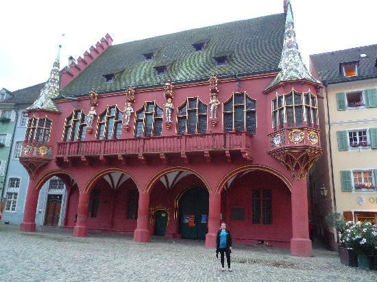 Hotel Stadt Freiburg: Kaufhans edificio de finanzas y comercio