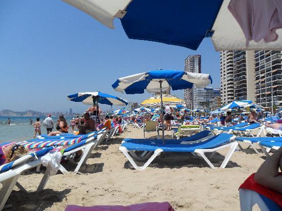 MedPlaya Hotel Riudor: the beach