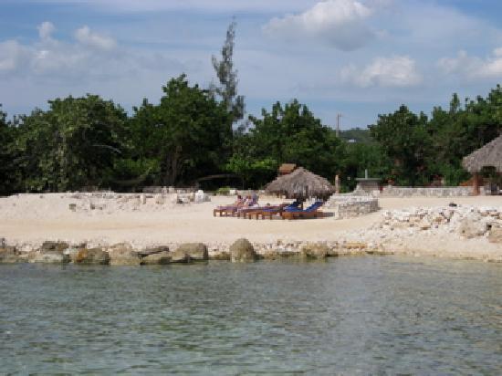 Coral Cove Resort: Sunbathing on the beach.