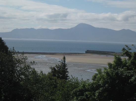 Mulranny Park Hotel: the view from the apartment