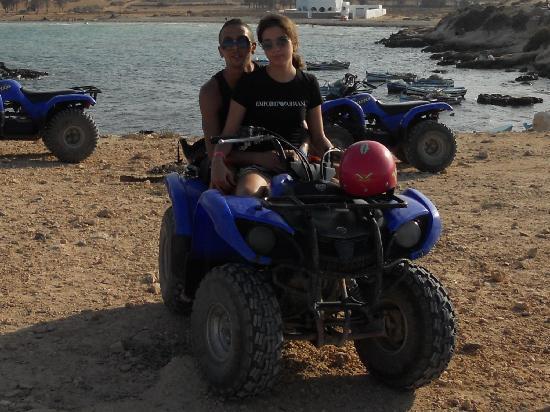 Zita Beach Resort: petite sortie en quad