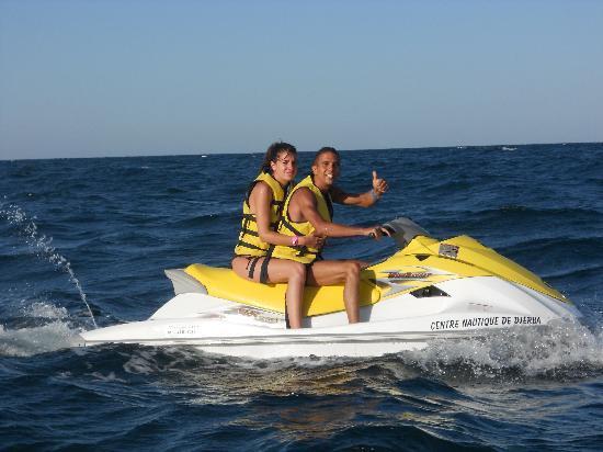 Zita Beach Resort: Balade en jet ski