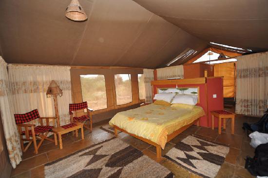 Sentrim Amboseli: Inside Tent 2