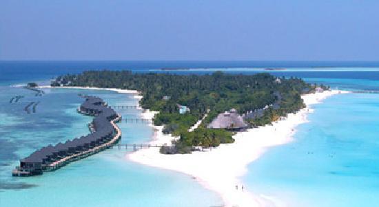 คุรีดุ ไอแลนด์ รีสอร์ท แอนด์ สปา: Paradise!!!