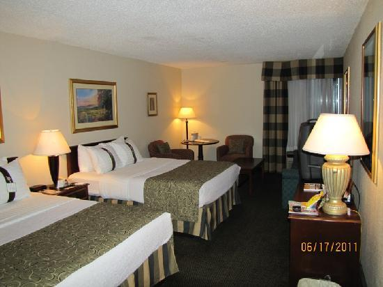 Lexington Hotel Rochester Airport: habitacion